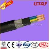 Câble en cuivre Yxz2V / N2xry, câble d'acier rond isolé 0.6 / 1 Kv XLPE blindé, câbles multi-core avec conducteur en cuivre