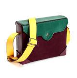 熱い販売の良質の対照は女性のためのハンド・バッグのBolsoの本革の余暇袋を着色する