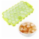 FDAのAppprovedの蜜蜂の巣の形はFood-Grade Silliconeの角氷の皿を個人化する