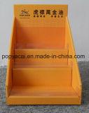 HKの熱い販売法によって印刷されるボール紙のPegboardのカウンタートップの陳列ケース