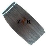暗い色PUテープWeft毛の卸売は配達絶食する