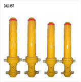 Garbage Station를 위한 3 4 Multistage Single Acting Hydraulic Oil Cylinder