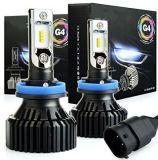 Più nuovo faro tutto compreso estremamente luminoso di lumen H11 H8 H9 LED di versione G4 8000