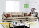 普及したファブリックコーナーのソファーの現代居間の家具