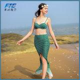 Sirène 2017 colorée d'Aipbunny vêtements de bain réglés de bikini de 2 parties