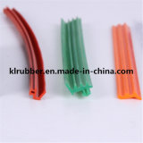 Bande flexible de cachetage de PVC de profil de PVC pour la glace de porte