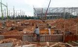 Taller de prefabricados de estructura de acero estable construcción