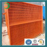 캘리포니아 임시 담 주황색 안전 담 방벽