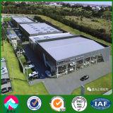 Exposition hall de véhicule de structure métallique de qualité