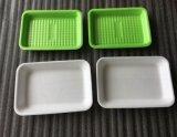 Cassetti freschi della gomma piuma dell'alimento del polistirolo del nero ENV di imballaggio della carne del commestibile