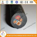 錫メッキされた銅のコンダクターEPRの絶縁体CPEの外装鉱物によって絶縁されるゴム製ケーブル