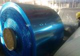Blad van het Aluminium van de plastic Film het Met een laag bedekte