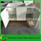 De populaire Witte Keukenkasten van de Keukenkast van de Melamine In het groot Chinese (dfw-001)