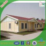 2016 아름다운 가벼운 강철 Prefabricated 별장 또는 니스 조립식 집 또는 니스 모듈 집