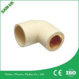 El agua de la fábrica de montaje Casquillo de reducción SCH40 plástico accesorios de tubería de CPVC