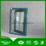 ventana de 6mm+12A+6m m y puerta esmaltadas dobles de la ventana de aluminio
