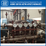 Hochdruckkompressor des kolben-Erdgas-CNG