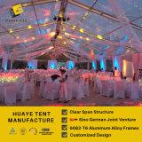 Шатер венчания PVC высокого качества Huaye прозрачный для 400 людей (hy124b)