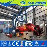 Julong de exportación de la máquina cortadora de draga de succión de los mercados de ultramar