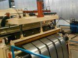 Metal de aço galvanizado de alta velocidade da bobina do zinco de aço que corta a maquinaria