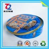 La hojalata Cookie Jar (diámetro: 250*70mm)