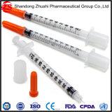 Wegwerfinsulin-Spritze