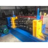 Machine de fente de bobines en métal de plaque de tôle d'acier