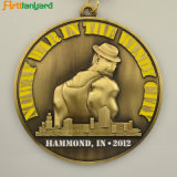 Antique Color著カスタマイズされた高品質の金属メダル