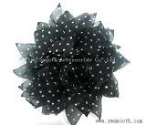 Accessori decorativi dell'indumento del fiore multicolore chiffon del merletto di Headwear di modo
