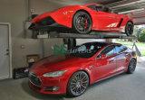 Одиночный подъем стоянкы автомобилей автомобиля столба