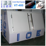 Холодный бункер Vt-400 льда Merchandiser льда системы стены