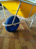 Wheelbarrow plástico Wb2204-2 da bandeja do equipamento de exploração agrícola de Japão