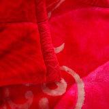 Coperta del visone di Rashel della piega del doppio del panno morbido della flanella