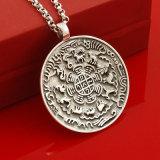 De goedkope Prijs paste Platina aan plateerde Zilveren Tegenhanger 925