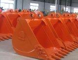 Cubeta/garra resistentes do guindaste para as peças de maquinaria da construção da máquina escavadora/escavadora