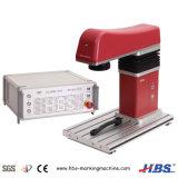 20W máquina de gravação a laser de fibra com mesa de elevação do elevador automático
