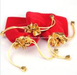 Malote vermelho da jóia de veludo da alta qualidade de Nobel