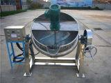 Jacketedやかん(ACE-JCG-AJ)を傾ける200L電気暖房