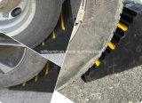 최신 단단한 고무 차 바퀴 굄목 바퀴 마개