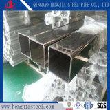 304のガラス塀のための正方形によって溶接されるステンレス鋼スロット管