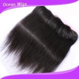 8A Virgin brésilien Hair Lace Frontal 13X4 Straight Lace Frontal Closure Ear à Ear Full Lace Frontal et à Closures avec Baby Hair (F-007)