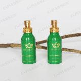 Aluminiumduftstoff-Flasche mit goldener Metallspray-Pumpe (PPC-ACB-055)