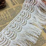 Оптовая торговля популярные стильный одной стороны кружева Tassel для одежды аксессуары