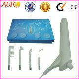 Tratamento de massagem facial de ozono de mão apertando Pele Máquina de Alta Frequência