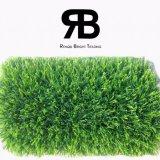 Hierba artificial sintetizada del campo del césped de la decoración del paisaje de la caída para el jardín/el parque