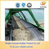Pesante-dovere nero Rubber Conveyor Belt del PE Fabric in Rubber Belt