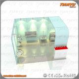 Visualización de aluminio de la cabina de la feria profesional de la visualización del sitio de la demostración