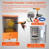 Lab Small Lote Powder Coating Painting Equipment System