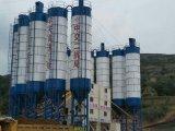 Hzs120 Planta de mistura de concreto para produção de betão