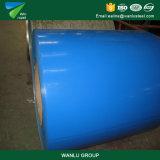 Feuille de couleur en carton ondulé galvanisé prélaqué PPGI bobines couché